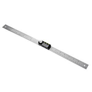 200mm Electronic Protractor Electron Goniometer Stainless Steel Inclinómetro Digital Nivel de medición de la regla