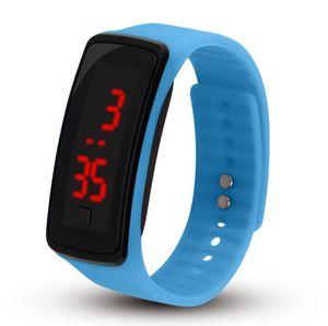 Encreur LED montre de sport couple étudiant étudiant montre électronique Montres-bracelets