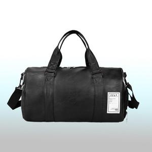 Wobag Nova Moda Saco de Viagem de Qualidade PU de Couro Casal Sacos de Viagem de Bagagem de Mão Para Homens E Mulheres Duffle Bag 2018