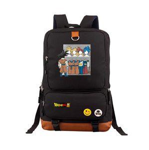 Dragonball Z Son Goku Cosplay Rucksack Kakaroo Canvas Schüler Schultasche Teenager Mädchen Rucksäcke Reisetaschen