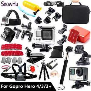 Freeshipping Aksesuarları git için uygun su geçirmez Konut Case Black Edition TZ60 ile Kahraman 4 kahraman 3 kahraman 3+ pro set