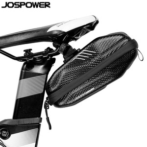 JOSPOWER High Quality Bicycle Saddle Seat Bag Rainproof Repair Tools Bike Bag Panniers Cycling Refective Tail Bags Equipment