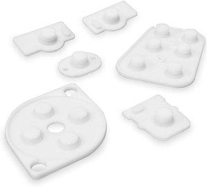 Проводящие силиконовые кнопки Контакты Комплект резиновых прокладок Запасные части для контроллера N64 JoyPad N 64 Силиконовый коврик БЫСТРЫЙ КОРАБЛЬ