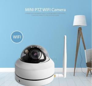 Telecamera IP PTZ wireless HD 1080P CCTV Audio Onvif Telecamera da 2,5 pollici Telecamera di sicurezza per sorveglianza esterna WiFi Motorizzata Zoom 4X P2P