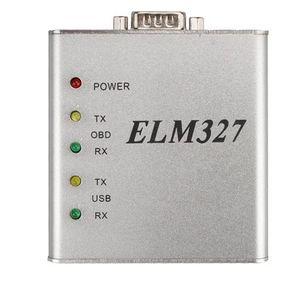 ELM327 USB Metal V1.4 Interface COM RS232 25K80 Chip OBD2 Protocolo Completo Melhor Qualidade Matel Em Estoque Frete Grátis