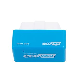 20pcs portatile NitroOBD2 più recente EcoOBD2 Economia scatola di sintonia per Benzina 15% di carburante Salva PlugDrive OBD 2 scanner