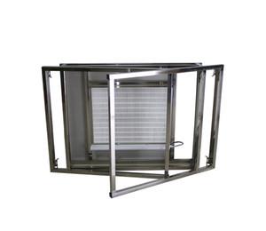 New Folding Installation Dust Free Room Workshop Laminar Hood Bench Air Flow Clean Lamination Machine Refurbish