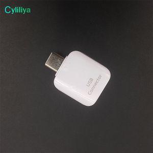 Nuevo original Original Tipo-C a Micro + Tipo-C a conector USB Adaptador OTG para Samsung Galaxy C9 S8 Plus Combination.Data bial-propósito