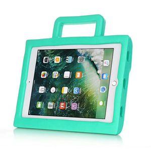 아이 Safe EVA Case Foam for iPad 새로운 2017 미니 234 2 3 4 Air 5 6 Pro 3D 만화 무악한 어린이 아이 Shockproof 보호 스탠드 1PC