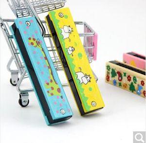 Nueva Divertido Armónica De Madera Para Niños Instrumento de Música Educativo Infantil Atractivo Banda de Juguete Kit Niños juguetes para bebés Regalo de Cumpleaños Regalo de Navidad Regalo