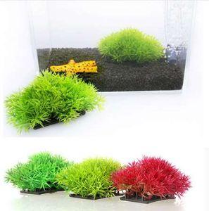 1 pc Artificielle Herbe Aquarium Décor Eau Weeds Ornement Fish Tank Plant Aquarium Ornement Décorations 3 Couleur