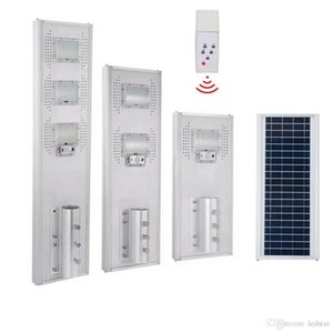 50 W 100 W 150 W Entegre Refletor LED Solar Lamba Lambaları Güçlü Açık Su Geçirmez Sokak Işık IP66 PIR Sensörü