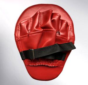 La nueva manera de boxeo Mitt Formación objetivo de enfoque Pads sacador Guantes MMA Karate de combate tailandés Kick PU material de espuma