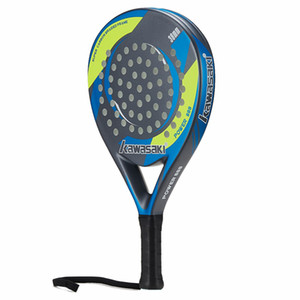 POWER 600 Padel Racquet 38mm Tennis Padell Racket for Junior Player Carbon Fiber Frame Soft EVA Face with Paddle Bag