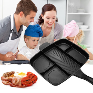 5 Em 1 Multi-Purpose Separation Pot Frigideira Pan Antiaderente Grelha Fritar Forno Frigideira Churrasqueira Placa Assadeira Cozinhar Ferramentas De Cozinha