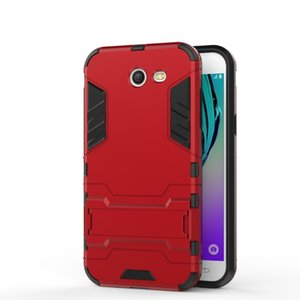 Für Samsung Galaxy J3 (J5) J7 (2017) J3 Emerge US-Version Fall schlanker starker Telefonkasten Rüstung robuste TPU-Abdeckung für Samsung J3 Prime Taschen
