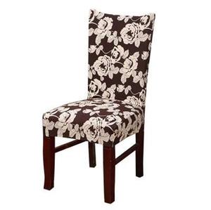 Coprisedili elasticizzati MECEROCK Spandex Dining Chair Floral Printing Ellip Slipcovers Restaurant Cover per matrimoni Hotel Banquet