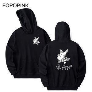 Crybaby Lil Peep Pullover Männer Pullover Maxi-Sweatshirt Frauen Herbst-Frühlings-Fleece Maxi-Hip Rip Streetshirt Z40