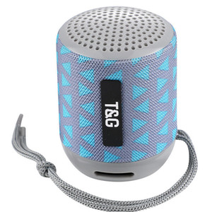 TG129 휴대용 블루투스 스피커 미니 무선 서브 우퍼 음악 MP3 플레이어 FM 라디오 TF 스토리지 카드 USB 천 크리 에이 티브 야외 스피커