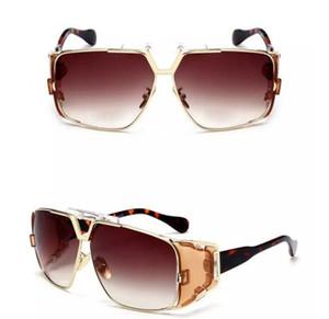 Erkekler 951 Güneş Gözlüğü Yeni Retro Tam Çerçeve Gözlük Ünlü Gözlük Marka Tasarımcısı Lüks Güneş Gözlüğü Eski Gözlük