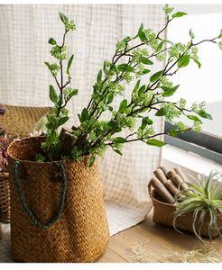 Haute quailty gros accents maison verdure cuifeng fruit feuilles décoration faux floral bouquet bouquet arrangement floral