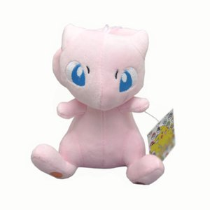"Hot New 6"" 15CM MEW Plush Doll Anime Collectible Dolls Pingentes Stuffed melhores presentes brinquedos macios"