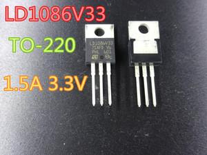50pcs / lot Neue Feld-Effekt-Transistor LD1086V33 TO-220 1.5A 3.3V in Versandkosten Lager