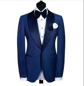 Personnaliser un bouton smokings blouses de garçons d'honneur garçons d'honneur blazer hommes excellent costume activité activité costume de bal d'étudiants parti (veste + pantalon + nœud) NO: 225