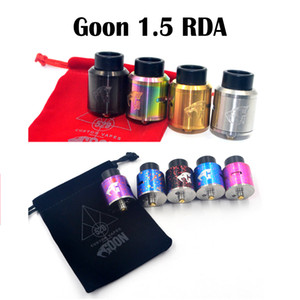 Goon 1.5 RDA 클론 사용자 정의 528 RDA 분무기 24mm 직경 사이클롭스 기류 510 스레드 분무기 Vape Goon v1.5 RDA