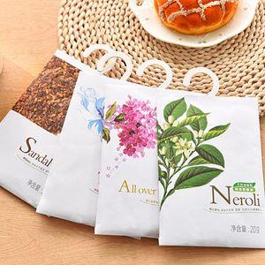 8 Taste Fresh Air Profumeria profumata Aromaterapia Natural Smell Incenso Wardrobe Sachet Air Fresh Scent Bag