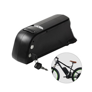 48v 14ah 800W بطارية قابلة للشحن طراز جديد بطارية dolphin down style battery ebike مع usb port send charger from China stock
