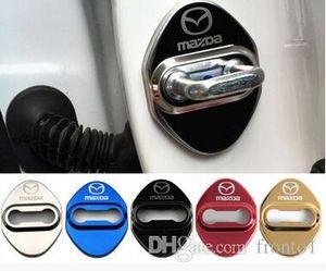 Car Styling Auto Türschloss Abdeckung Fall für Mazda 3 6 2 cx3 cx5 cx7 323 Türschloss Beschützer Car Styling Zubehör