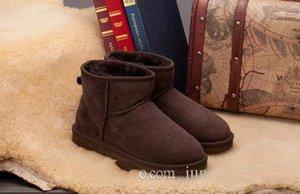 Новое высокое качество 2017 новый рождественский подарок кожа снег сапоги 7 цвет zapatos mujer ботильоны зимние сапоги botas femininas зимняя обувь
