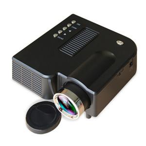 مصغرة المحمولة UC28B أجهزة العرض 500LM المسرح المنزلي سينما الوسائط المتعددة الصمام عرض الفيديو دعم USB TF بطاقة