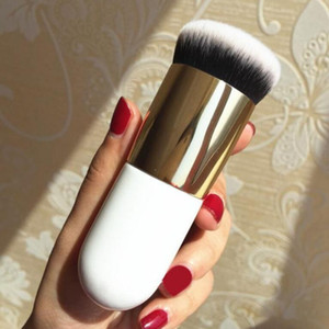 High Quality New Chubby Pier Foundation Brush Flat Cream Makeup Brushes Professional Cosmetic Makeup Brush