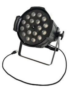 4 18pcs Rgbwa llevó la luz de la igualdad zoom 18W LED Par Etapa X zoom Uv Piezas Dsesf