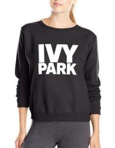 Al por mayor Beyonce IVY PARQUE la camiseta de las mujeres del invierno 2018 sudaderas con capucha de manga larga de paño grueso y suave de impresión de las mujeres par chándal sudaderas IVY