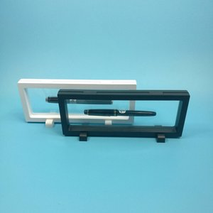 PET Membrane Pen Watch Pendant Display Stand Holder Caja de embalaje Proteger Reloj de la joyería Flotante Presentación Caso W7188