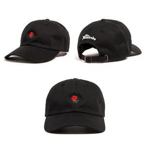 Yüzlerce Gül Beyzbol Şapkası Snapback şapkalar moda tasarım marka Gül Baba Şapka spor hip hop güneş Golf şapka kemik gorras ucuz erkek Casquette