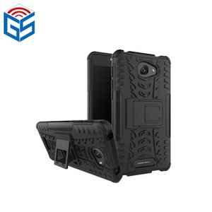 For Alcatel Pop 4S 5095B 5095I 5095K 5095Y Shockproof 2 in 1 Combo Phone Cover Case with Kickstand