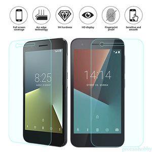 Protector de pantalla de cristal templado para Vodafone Smart N8 No Bubble 9H 2.5D Film iPhone XS XR XS Max Samsung J7 Prime