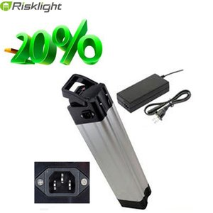 Pas de taxe de haute qualité 48V 14.5Ah vélo électrique batterie Silver Fish 48V 15Ah batterie de téléphone portable Samsung avec boîtier en aluminium + chargeur