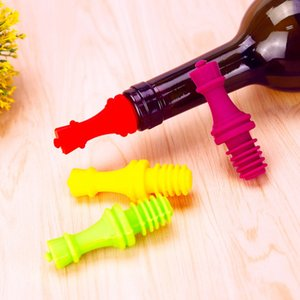 와인 스토퍼 참신 체스 실리콘 와인 병 마개 세트 와인, 맥주, 샴페인에 대 한 재사용 가능한 실리콘 모자 맥주 실러 커버