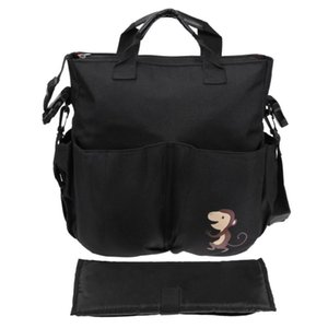Baby Stroller Organizer Accessory Big Capacity Handbag Shoulder Bag Mummy Nappy Bags Wheelchair Handbag Kids Carriage
