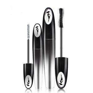 2 Pcs Ensemble Dense Long Curling Mascara Noir Imperméable Longue Durée Fibre Mascara Crème Greffe Cils Épais Extension Mascara