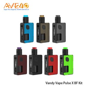 VandyVape Vandy Vape Pulse X Kit con 90W BF Squonk Mod Pulse X BF RDA tanque 100% original