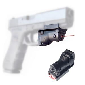 FIRECLUB Tactical Caccia 5mw Laser Rosso Mirino Red Dot Sight Per G19 23 22 17 21 37 31 20 34 35 37 38 Caza