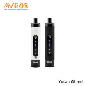 Yocan iShred Vaporizer Kit vaporizador de hierba seca Pluma Con 2600mah 18650 Batería de alto drenaje 100% original