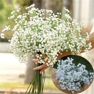 Haute Quanlity 1000Pcs / lot de Nice Gypsophila Fleurs artificielles Mariage Décoration fleurs décoratives T2I086