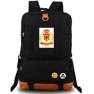 Mechelen sırt çantası Sarı Reds daypack KV Futbol kulübü bilgisayar katiyen schoolbag Futbol günü paketi Spor okul çantası Açık sırt çantası